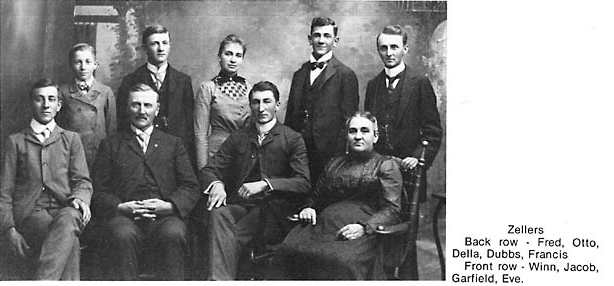 The family of Jacob and Eve Zeller